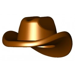 Chapeau Cowboy Reddish Brown