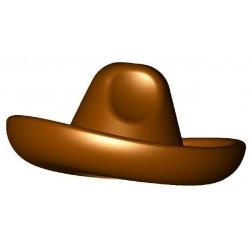 Reddish Brown Sombrero
