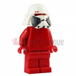 Lego Custom Minifig Arealight Casque White Bacara Commander (La Petite Brique) Star Wars