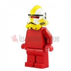 Lego Custom Minifig Arealight Casque White Commander Bly (La Petite Brique) Star Wars