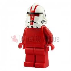 White Commander Deviss Helmet