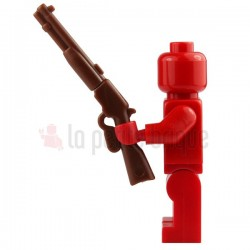 Fusil à répétition marron