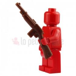 Fusil de bandit marron