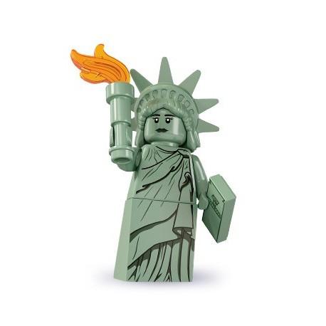LEGO Minifig Serie 6 - 8827 - la statue de la liberté