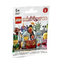 LEGO Minifig Serie 6 - 8827 - le génie