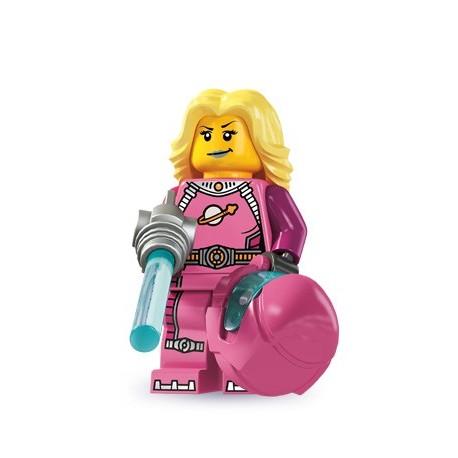 LEGO Minifig Serie 6 - 8827 - la fille intergalactique