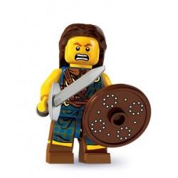 LEGO Minifig Serie 6 - 8827 - le combattant écossais