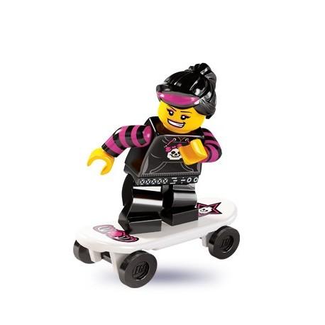 LEGO Minifig Serie 6 - 8827 - la skateuse
