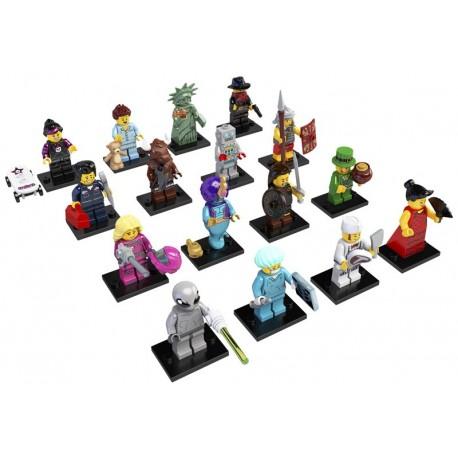 LEGO Serie 6 - 16 minifigures - 8827