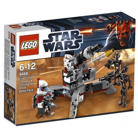 LEGO STAR WARS 9488 - Elite Clone Trooper & Commando Droid
