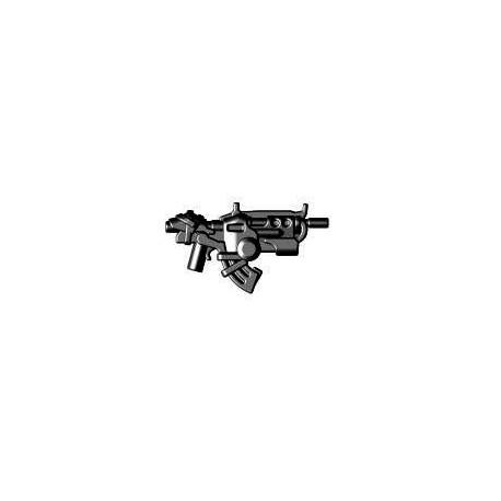 BrickWarriors LEGO Custom minifig accessoires Fusil d'attaque Ground Dweller (noir)