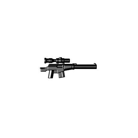 BrickWarriors LEGO Custom minifig accessoires Fusil de Sniper (noir)