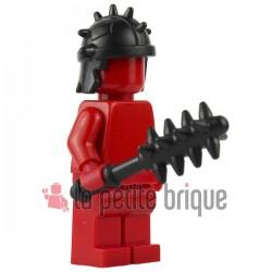 Lego Brick Warriors Custom minifig accessoires Massue cloutée (noir)