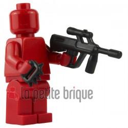 Lego Brick Warriors Custom minifig accessoires Poings américains / Cestus (noir)
