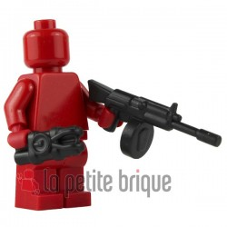 Lego Custom BRICK WARRIORS Terrorizer MG (noir) La Petite Brique