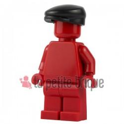Lego Brick Warriors Custom minifig accessoires Casquette Hooligan (noir)