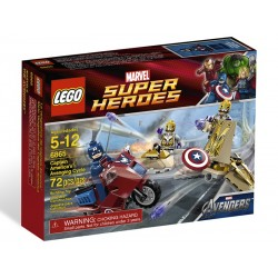LEGO Super Heroes 6865 - La vengeance de Captain America (La Petite Brique)