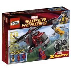 LEGO SUPER HEROES 6866 - L'hélicoptère de Wolverine (La Petite Brique)