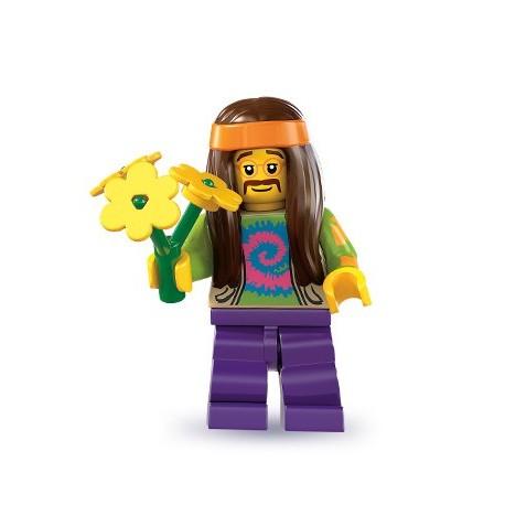 LEGO Minifig Serie 7 - 8831 - le hippie
