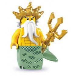 LEGO Minifig Serie 7 - 8831 - le roi de l'océan