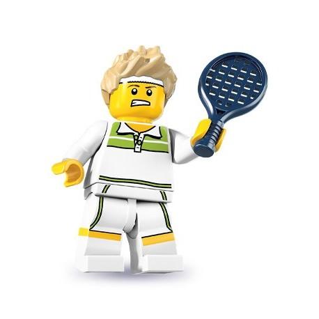 LEGO Minifig Serie 7 - 8831 - le champion de tennis