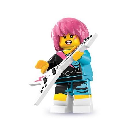 LEGO Minifig Serie 7 - 8831 - la rockeuse (La Petite Brique)