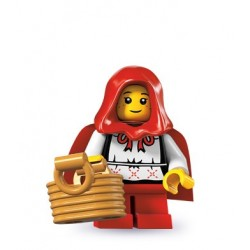 LEGO Minifig Serie 7 - 8831 - la visteuse de Mère-Grand, Petit Chaperon Rouge (La Petite Brique)