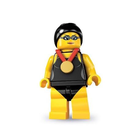 LEGO Minifig Serie 7 - 8831 - la championne de natation (La Petite Brique)