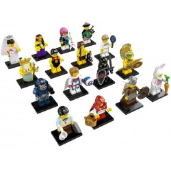 LEGO Series 7 - 16 minifigures - 8831