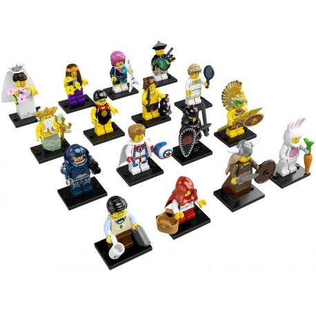 LEGO Serie 7 - 16 minifigures - 8831 (La Petite Brique)