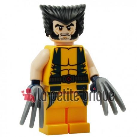 LEGO Super Heroes Wolverine sh017 (La Petite Brique)
