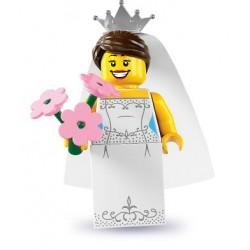 LEGO Minifig Serie 7 - 8831 - la mariée (La Petite Brique)