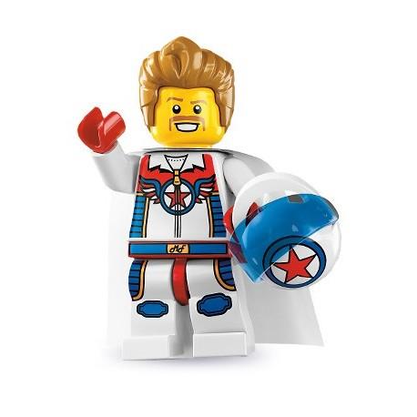 LEGO Minifig Serie 7 - 8831 - le cascadeur Daredevil (La Petite Brique)