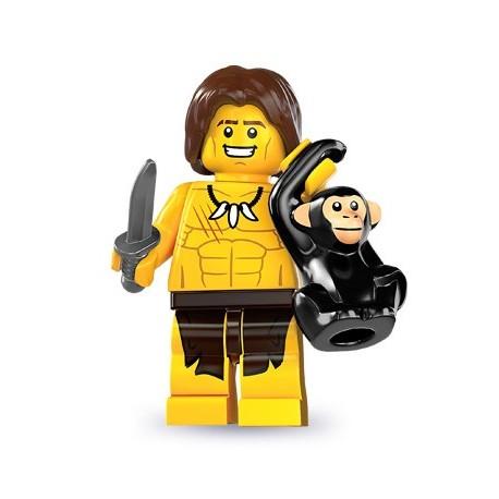LEGO Minifig Serie 7 - 8831 - le garçon de la jungle (La Petite Brique)