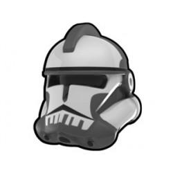 Lego Custom Arealight Dark Gray Commander Colt Helmet (La Petite Brique)