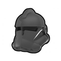 Lego Custom Arealight Dark Gray Commander Helmet (La Petite Brique)