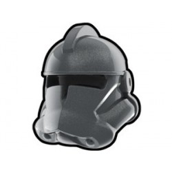 Lego Custom Arealight Silver Commander Helmet (La Petite Brique)
