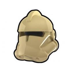 Tan Commander Helmet
