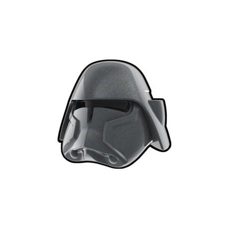 Lego Custom Arealight Silver Bacara Helmet (La Petite Brique)