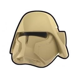 Lego Custom Arealight Tan Bacara Helmet (La Petite Brique)