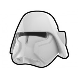 Lego Custom Arealight White Bacara Helmet (La Petite Brique)