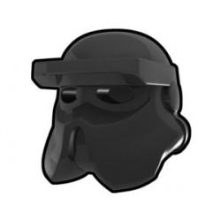Lego Custom Arealight Black AT-RT Helmet (La Petite Brique)