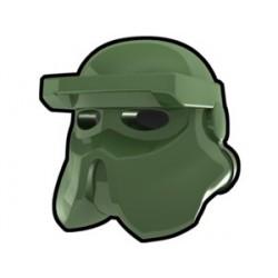 Lego Custom Arealight Sand Green AT-RT Helmet (La Petite Brique)