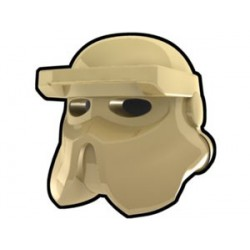 Lego Custom Arealight Tan AT-RT Helmet (La Petite Brique)