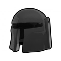 Lego Custom Arealight Black Mando Helmet (La Petite Brique)
