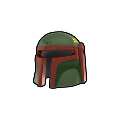 Lego Custom Arealight Sand Green Mando Boba Helmet (La Petite Brique)