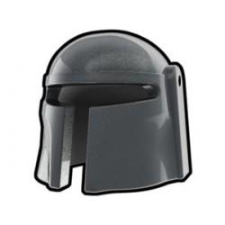 Silver Mando Helmet