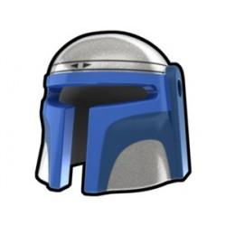 Silver Mando Jango Helmet