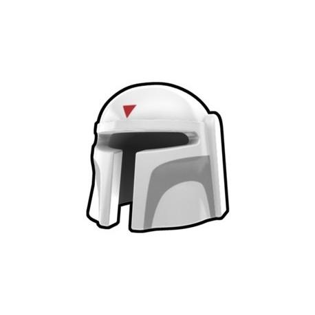 Lego Custom Arealight White Mando Boba Helmet (La Petite Brique)