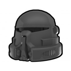 Lego Custom Arealight Dark Gray Airborne Helmet (La Petite Brique)